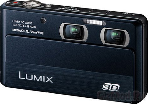 Официальный дебют Panasonic Lumix DMC-3D1