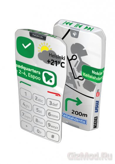 Full-экран концепт Nokia