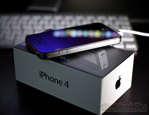iPhone 4S в России к новогодним праздникам