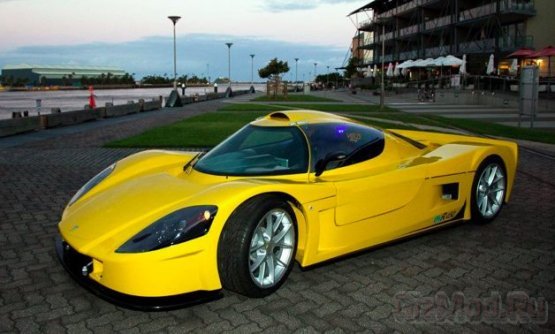 Электрический суперкар Varley evR450