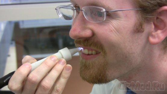 Плазменная кисть стоматологам в помощь
