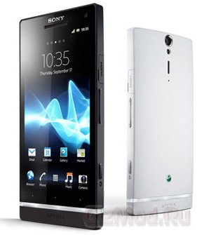 ����� � ��������� Sony Xperia S