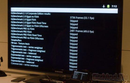 Intel Medfield (Atom Z2460) против.. остальных
