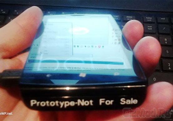 Прототип смартфона Sony под управлением WP7