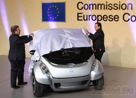 Электромобиль-трансформер презентовали в Брюсселе