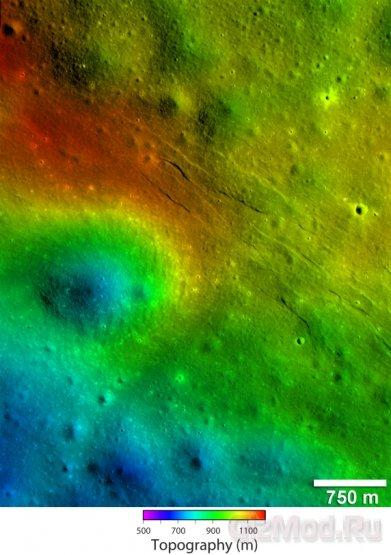 Луна остыла миллионами лет позже