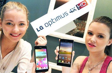 Смартфон LG Optimus 4X HD на NVIDIA Tegra 3