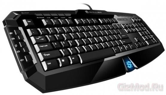 Геймерские клавиатуры SHARKOON
