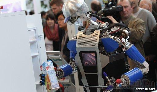 Технологии будущего на выставке CeBIT 2012