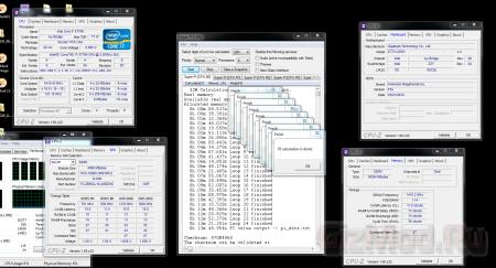 Intel Ivy Bridge разогнал 4 модуля ОЗУ до 3 ГГц