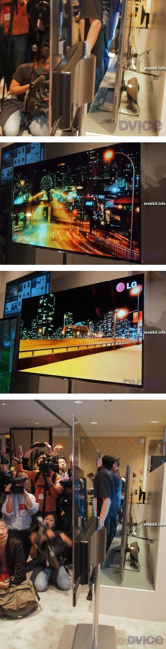 LG: большой, тонкий и легкий OLED-телевизор