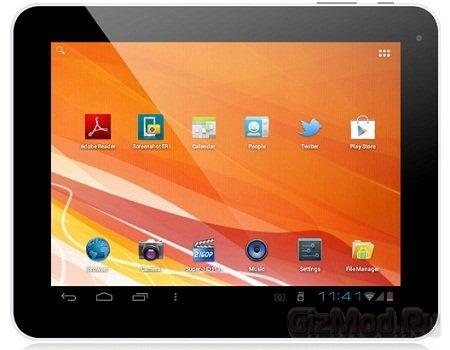 Бюджетный китайский планшет Eken A90 с ICS