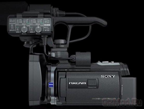 Профессиональная камера Sony HXR-NX30 с проектором