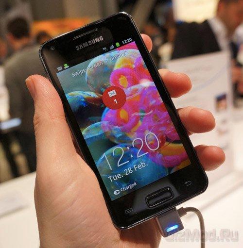 Samsung отказалась от идеи 3D-смартфонов