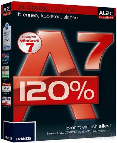 Alcohol 2.0.2.3929 - запись образов дисков