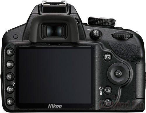 Зеркалка Nikon D3200 представлена официально