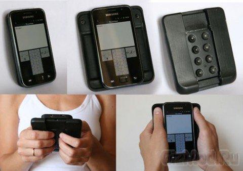 Октодон - клавиатура на задней панели смартфона