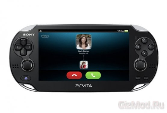 Skype заработал на PS Vita
