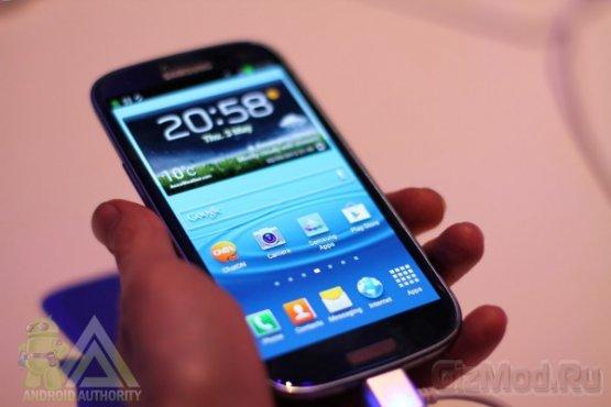 Samsung Galaxy S III первый взгляд
