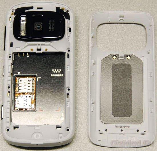 Анатомия смартфона Nokia 808 PureView