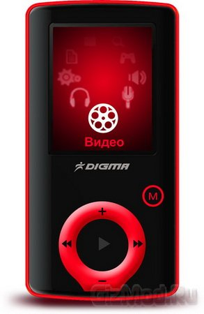 MP3-плеер Digma F2 с FM-трансмиттером на борту