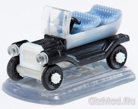 3D-принтер Objet30 Pro использует прозрачный пластик