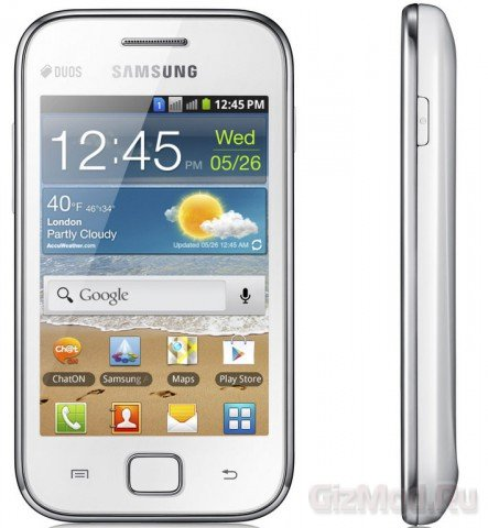 Samsung GALAXY Ace DUOS в России