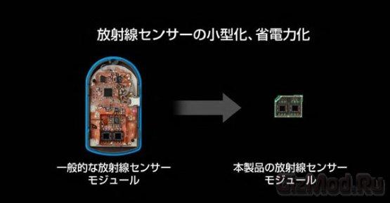 Смартфон Sharp Pantone 5 с детектором радиации