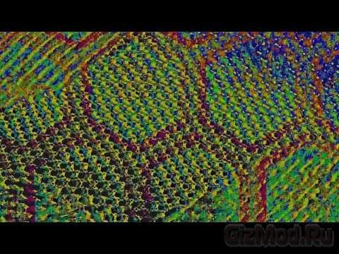 Медно-никелевые нанопроводники для печатной электроники