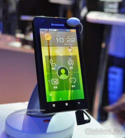 Medfield-смартфон для китайцев LePhone K800