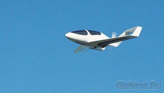 Synergy - пятиместный самолет с замкнутым крылом.