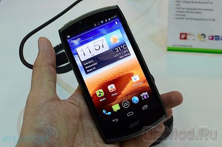 Подробности о смартфоне Acer CloudMobile S500