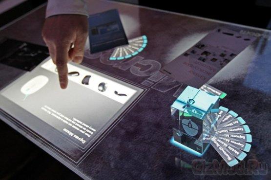 Microsoft Surface 2.0 � ������ �� 350 ����� ������