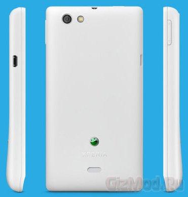 Социальный смартфон Sony Xperia miro