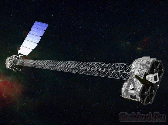 Телескоп NuSTAR будет изучать черные дыры