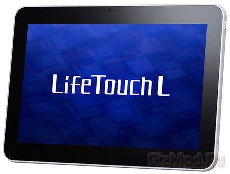 Планшет NEC LifeTouch L с аккумулятором 7400 мАч