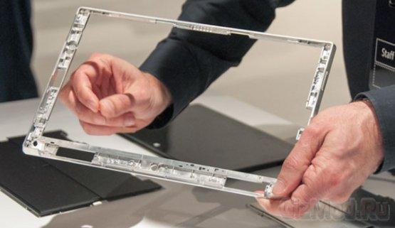 Планшеты Microsoft Surface вживую