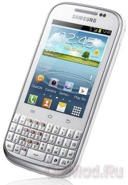 Смартфон Samsung Galaxy Chat официально