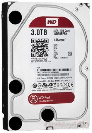 WD Red - винчестеры для сетевых хранилищ