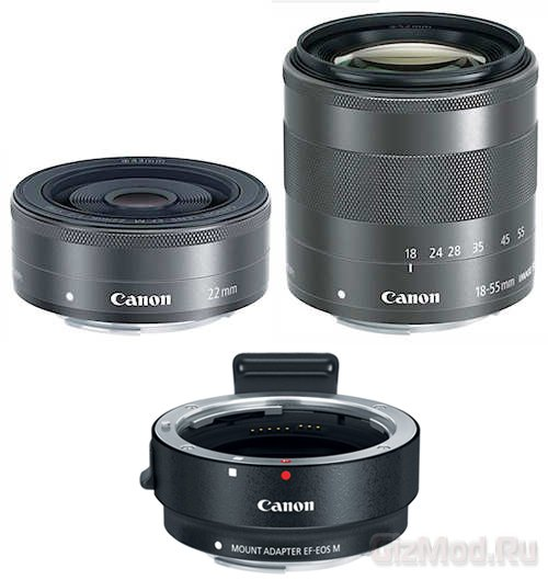 Первая беззеркальная камера Canon официально