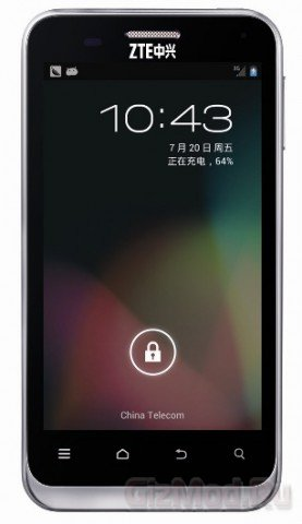 Смартфон ZTE N880E получил Android 4.1