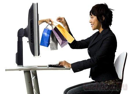 Продажи в сети с помощью планшетов растут.