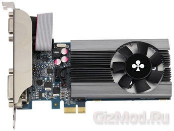 Club3D представила GeForce GT 610 PCI Express X1