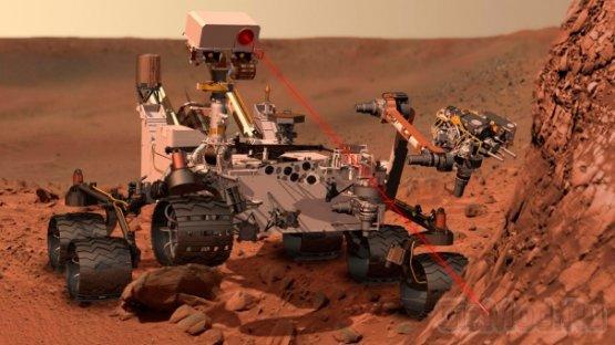 Марсоход Curiosity успешно испытал свой лазер
