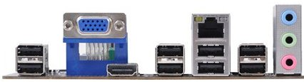 Mini-ITX плата HDC-I2/C-60 от Elitegroup