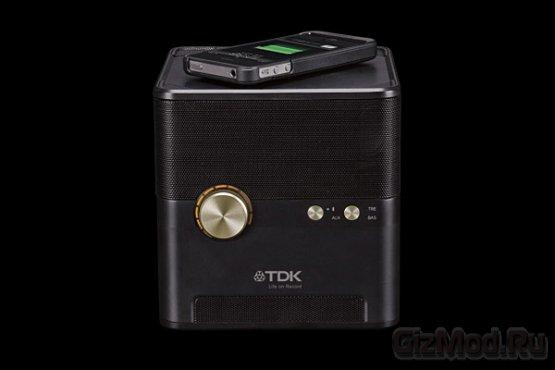Беспроводная акустика с зарядкой от TDK