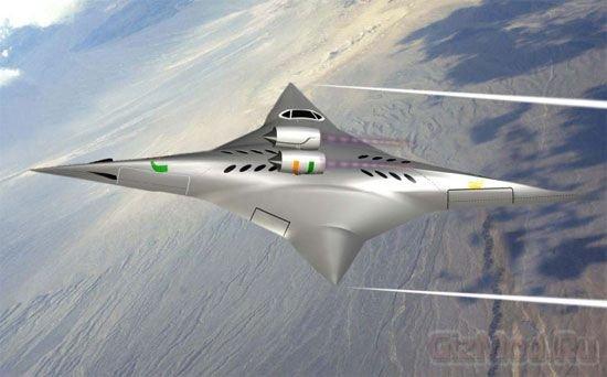 NASA заинтересовалось оригинальным самолетом