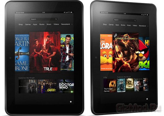 ����� ���������� � ������� Amazon Kindle