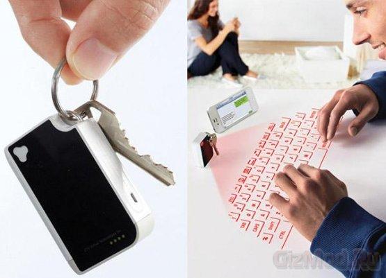 Брелок с виртуальной клавиатурой