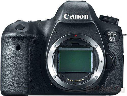 Зеркалка Canon EOS 6D официально